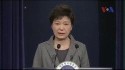 Tổng thống Hàn Quốc khóc xin lỗi cả nước về vụ chìm phà