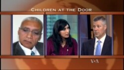 ON THE LINE: Children at the Door
