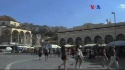 Yunan Halkı Yoksullukla Mücadele Ediyor