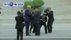 Manchetes Americanas 1 de Julho: Trump é o primeiro Presidente americano a pisar território norte-coreano