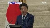 VOA60 DUNIYA: Firai Ministan Japan Shizo Abe Ya Dage Dokar Ta Baci Ta Coronavirus A Birnin Tokyo A Yau Litinin