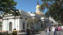 """Parlamento venezolano debate presunta """"ruptura del orden constitucional"""""""