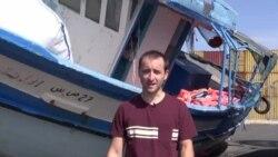 Nicolas Pinault, envoyé spécial de VOA Afrique, en Sicile pour couvrir la crise des migrants