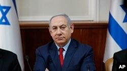 Le Premier ministre israélien Benjamin Netanyahu, à Jérusalem, le 5 janvier 2020.