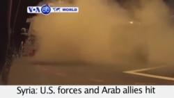 VOA60 Duniya: ISIS da Siriya, Satumba 23, 2014