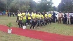 Zimbabwean Music Ensemble Entertains Crowd at First Lady Mnangagwa's Charity Event