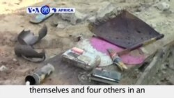 VOA60 Africa - Three suicide bombers kill four in Nigeria