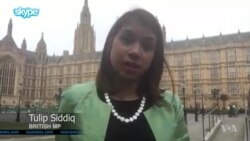 British MP Tulip Siddiq Speaks Out for Jailed Constituent