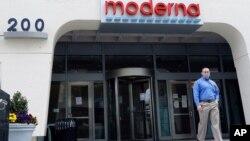 Tòa nhà của Moderna, tại Cambridge, bang Massachusetts.