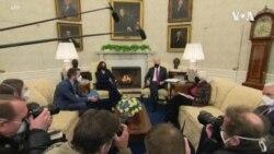 """拜登總統呼籲國會儘速通過""""美國救援法案"""""""