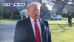 Manchetes Americanas 8 janeiro: A admnistração Trump está a pressionar a definir a fronteira com o México