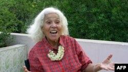 دکتر نوال سعداوی نویسنده فمینیست و فعال حقوق زنان - عکس از آرشیو