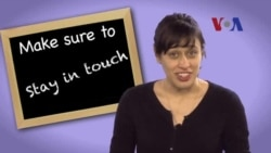 English in a Minute: Stay in Touch