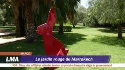 Le jardin rouge de Marrakech