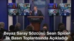 Beyaz Saray'a Sanal Ortamdan İlk Soru