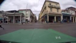 2016-03-21 美國之音視頻新聞﹕美國之音記者在哈瓦那街頭略影