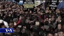 Tension në protestën e opozitës