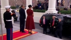 Obama, Trump Together At White House Ahead of Inauguration