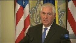 Час-Time: Тіллерсон: Росія має зробити перші кроки до деескалації ситуації на сході України