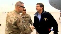 """2015-02-22 美國之音視頻新聞: 國防部長說美國""""重新考量""""在阿富汗任務"""