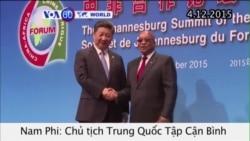 Trung Quốc cam kết cấp 60 tỉ đôla cho châu Phi (VOA60)