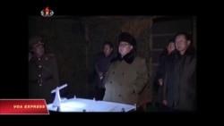 Bắc Triều Tiên lại phóng phi đạn
