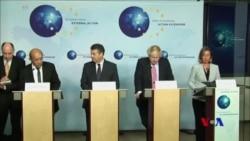 歐洲外交官敦促繼續執行伊核協議 (粵語)