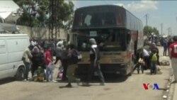 敘利亞最後一批反叛人員撤離霍姆斯 (粵語)