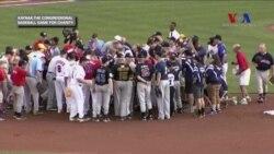 Kongre Üyeleri Beyzbol Maçında Birlik Mesajı Verdi