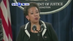 VOA60 America- U.S Attorney General Loretta Lynch announced Wednesday that Dylan Roof will be charged with hate crimes- July 23, 2015