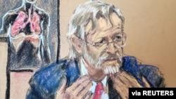 Pulmolog Martin Tobin svedočio je na suđenju