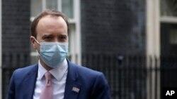 Sekretari i Shëndetësisë së Britanisë Matt Hancock