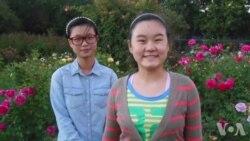 中国异议人士张林抵美与女儿团聚