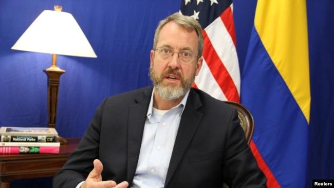 El embajdador de EE. UU. para Venezuela, James Story.