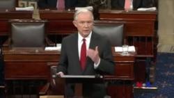 美國參議院確認塞申斯為司法部長