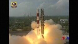 印度將創紀錄的104顆衛星送入太空 (粵語)