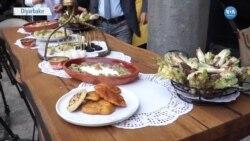 Diyarbakır'ın Kengerli Yemekleri Yarıştı
