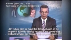 Cuban TV Anchor Reads Raul Castro Letter to Obama