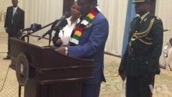 VaEmmerson Mnangagwa Voita Hurukuro neMutungamiri weBotswana VaIan Khama