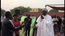 La campagne presidentielle au Tchad (video)