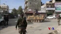 Gurûpên Opozisyona Sûrî Derbasî Efrînê Dibin
