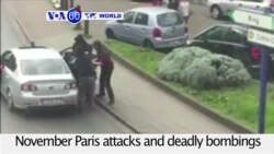 VOA60 World PM - Suspect Arrested in Connection with Paris, Brussels Attacks