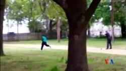 2015-04-08 美國之音視頻新聞:射殺黑人的美國白人警察被控謀殺罪