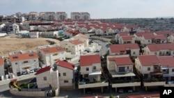 요르단강 서안 지구에 있는 이스라엘 정착촌.