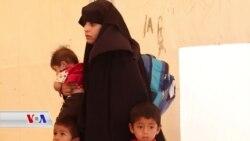 داهاتووی ئەو خێزانانەی داعش کە کامپی هۆل لە سوریا جێدەهێڵن