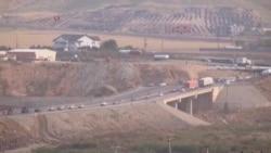 Convoy hacia Kobani