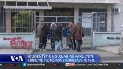 Tiranë: Vazhdon protesta e studentëve