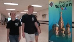 Sinh viên Mỹ học tiếng Nga qua STARTALK