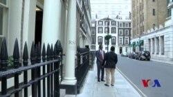 Caynte oo ka hadlay shirka London