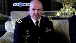 VOA60 America - President Trump names Lieutenant General H.R. McMaster as the New National Security Advisor